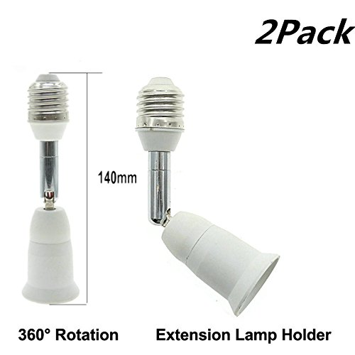 E26 E27 Light Socket Extender 4 5 Inch Extension